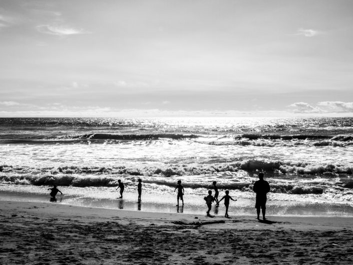 Strandspaß im Februar